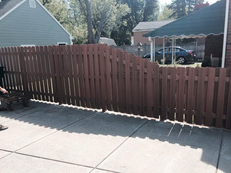 fiberon composite fencing this project from 12 roses is fiberon privacy - Composite Fencing