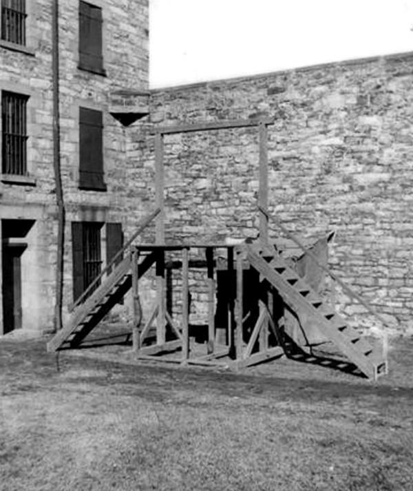 Gallows - This Day in History: Jun 21, 1877: The Molly Maguires are hanged at the Schuylkill County and Carbon County