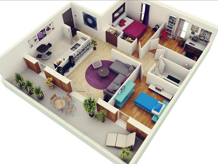 Architecture!!  une collection d\u0027idées sur Architecture à tester - Plan De Maison En 3d