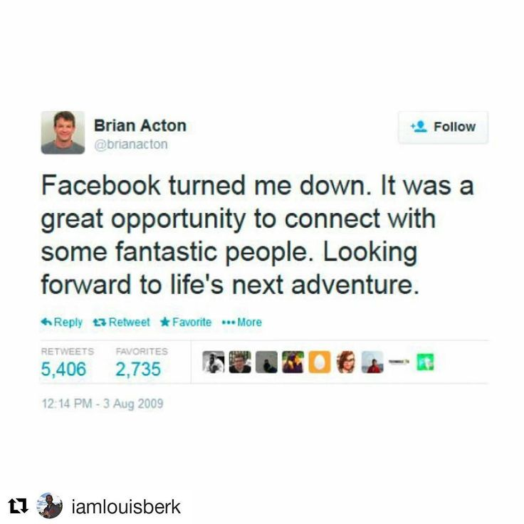Wow! It's stories like this one that #inspire us all. #5yearcountdown #inspo #MotivationMonday #barbersinctv #barber #hairstylist#makeupartist#cosmetologist#nailtech #esthetician #massagetherapist  #Repost @iamlouisberk with @repostapp  In 2009 Brian Acton was rejected by @Facebook. Later that year he co-founded a company called #Whatsapp. In 2014 he sold that company to Facebook for $19 BILLION. Don't ever let rejection get you down. #Keeppushing. Keep moving forward. Don't ever give up on…