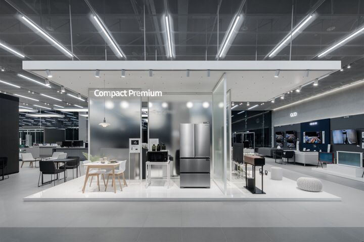 Samsung Digital Plaza by Betwin Space Design, Yongin – South Korea