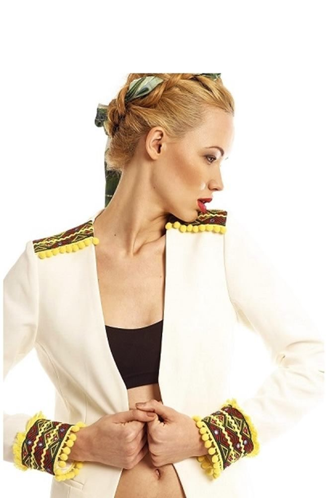 Rio Embroidered Jacket