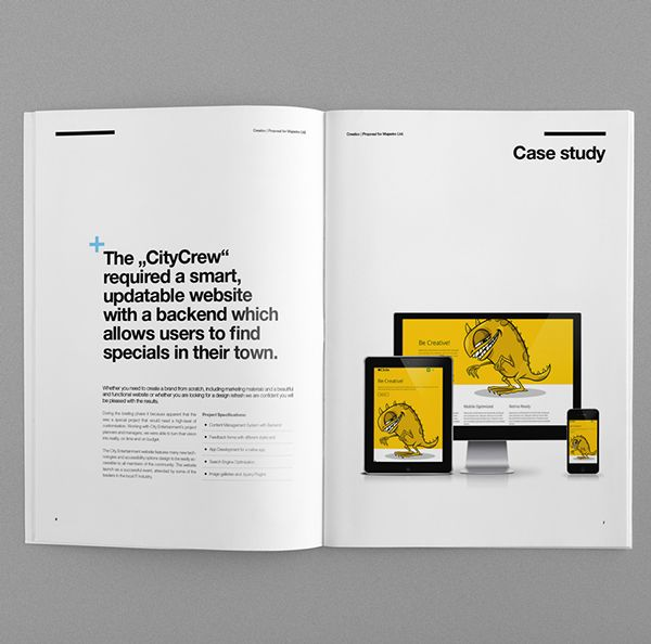 20 best images about Graphic design proposals – Proposal Layouts