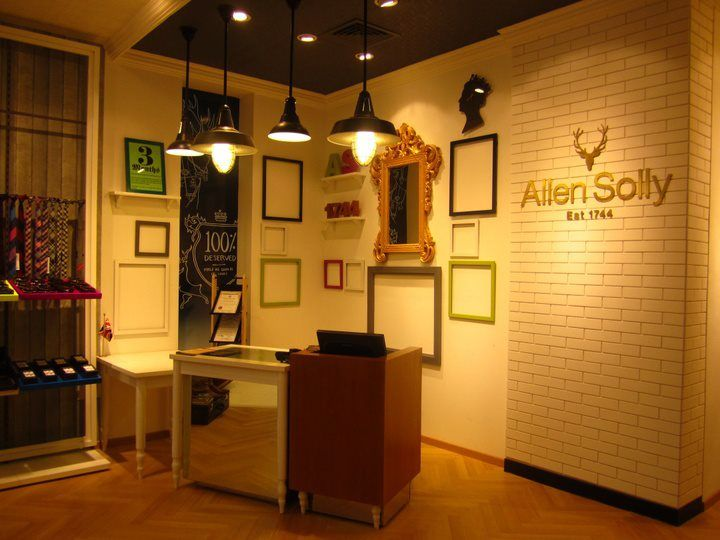 Everything has its own special place. Can you caption this part of the store for us?  #AllenSolly #Store #Stag #Bangalore #Fashion #Style #Check-out #Shopping