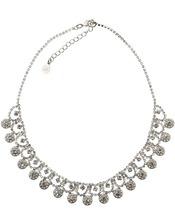 Audrey Occasion Collar Necklace, by Monsoon