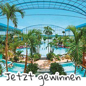 Gewinne jetzt einen Wellnesstrip über drei Tage! http://www.cosmoty.de/gewinnspiel/thermen-badewelt-sinsheim/