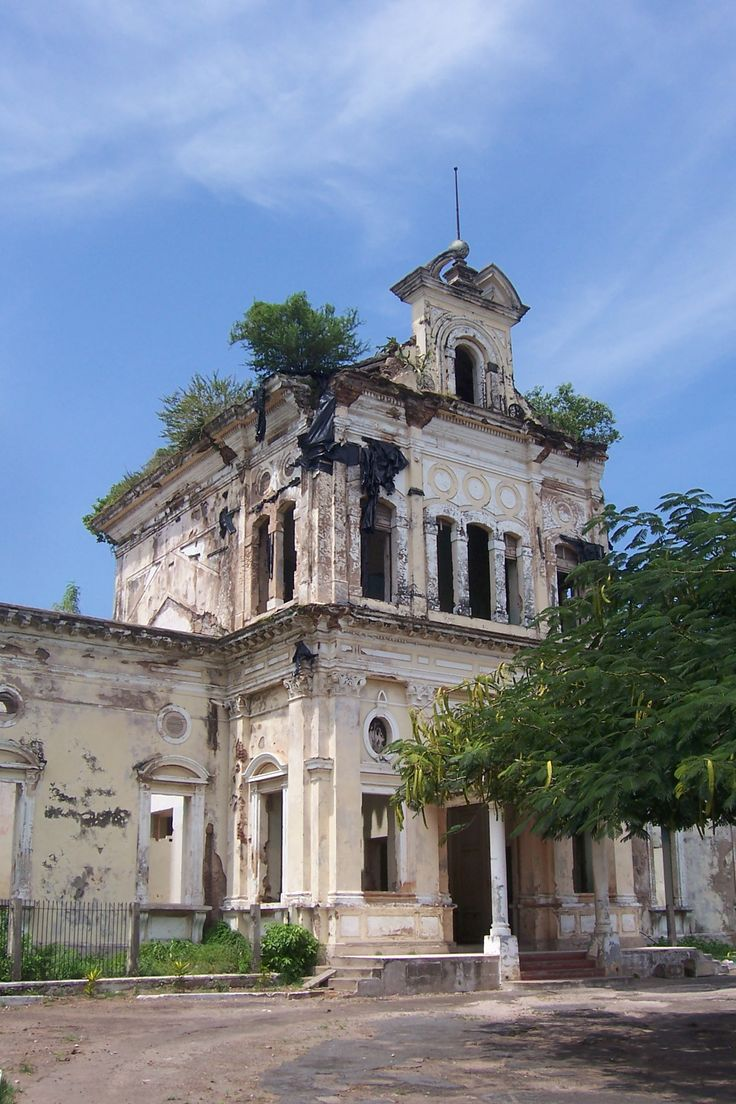 St. John of God's Hospital, Granada, Nicaragua. This old Catholic hospital is the most stunning decaying structure in the area. (V)