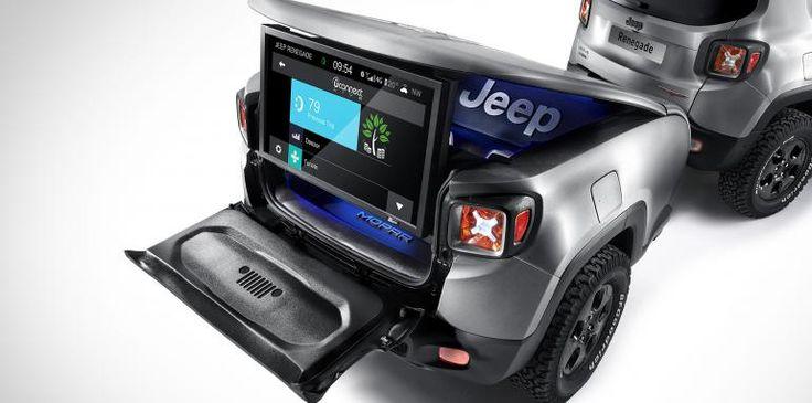 Jeep Renegade Hard Steel Trailer Jeep Renegade