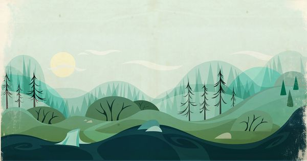 Background Design by Juan Casini, via Behance