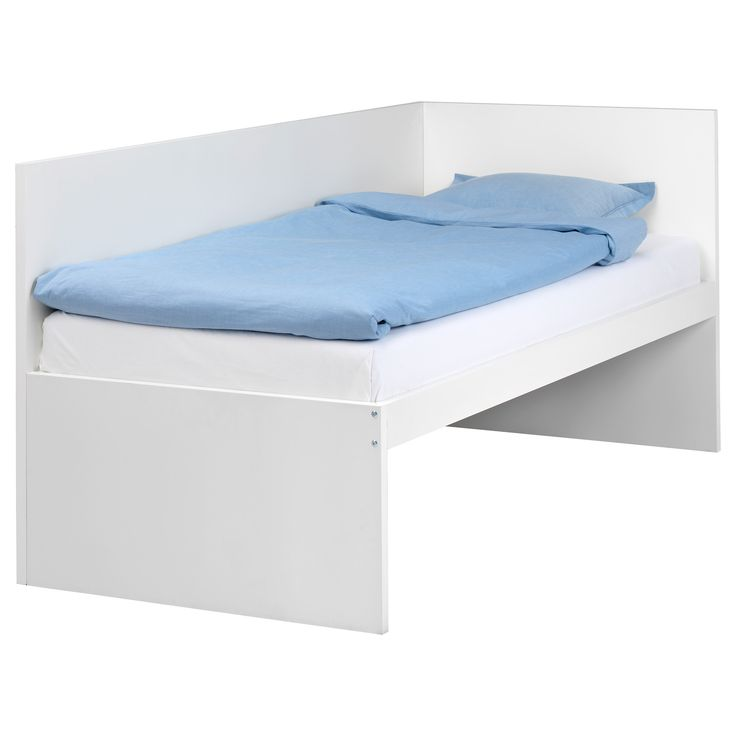 Ikea Leksvik Kinderbett Nachfolger ~ FLAXA Bed frame with headboard  IKEA  KIDS  Pinterest  Ikea, Bed