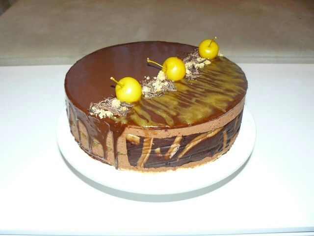 Chocolate mousse cake (recipe by Adriano Zumbo)