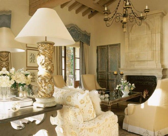 Tuscan living room decorating ideas oil painting for Tuscany living room ideas