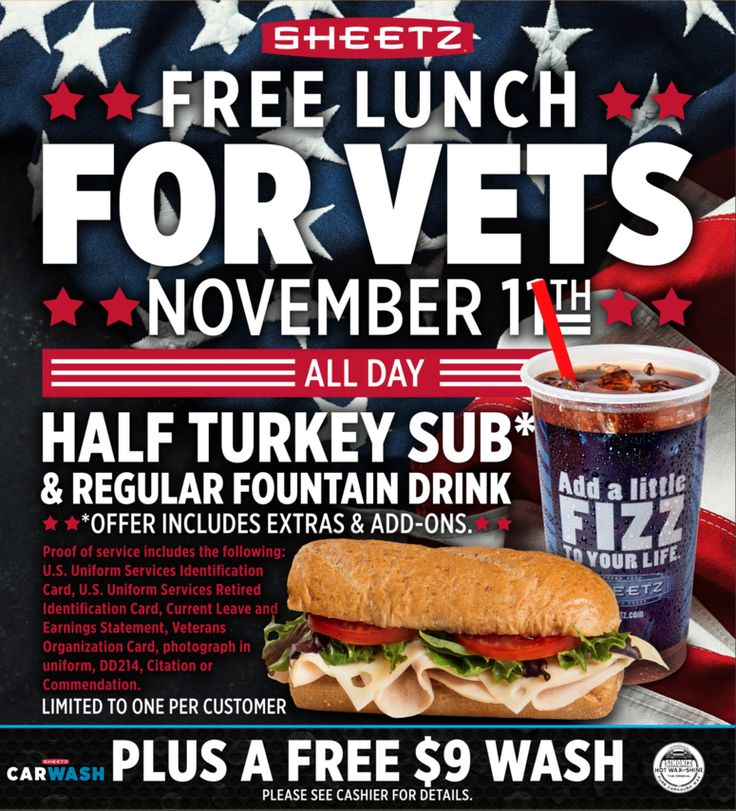 Sheetz To Offer Free Sub And Car Wash To Military