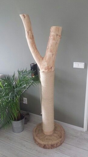 krabpaal van hout