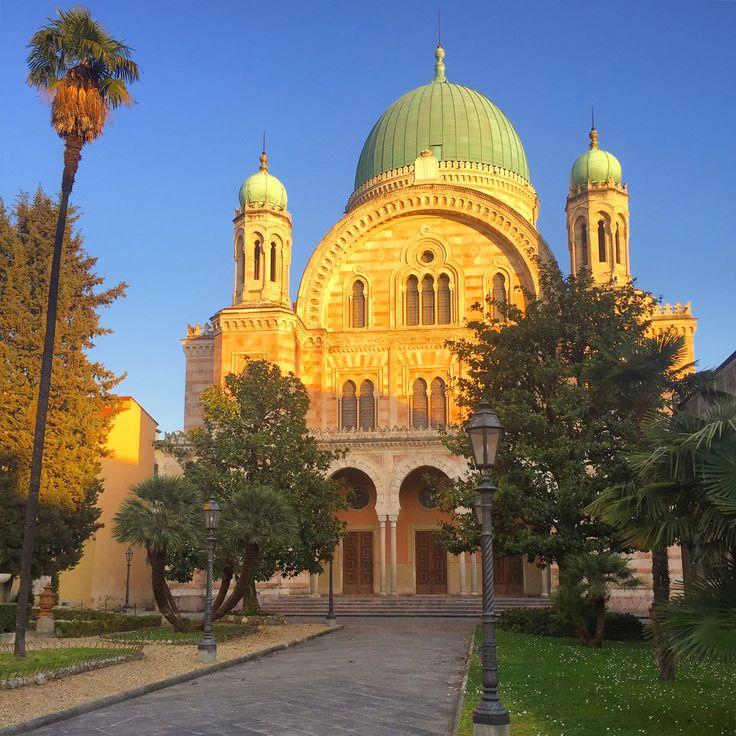 Sinagoga y museo ebraico de Firenze. Toscana. Italia.