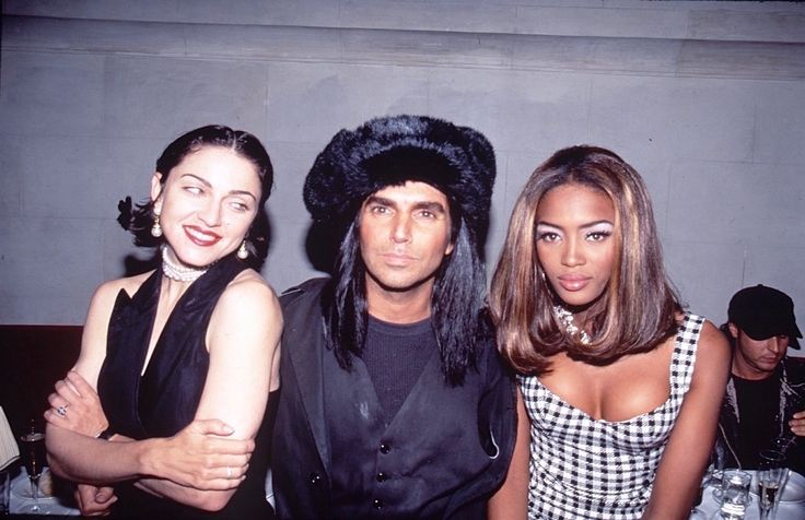 Madonna, Steven Meisel, and Naomi Campbell, 1991