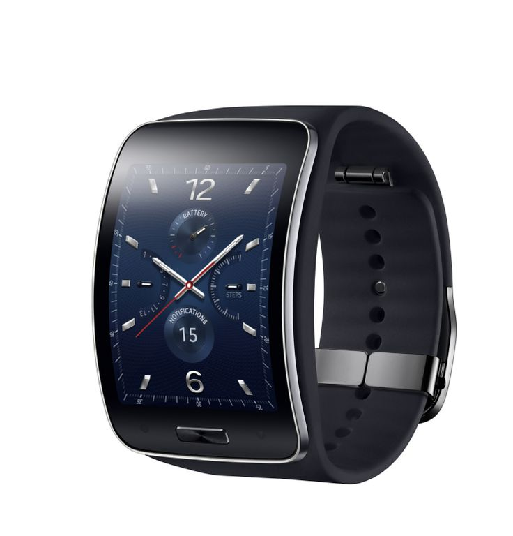 Samsung's New Gear S Smartwatch Features A Curved Screen And 3G Connectivity; Available in Oct; Details.