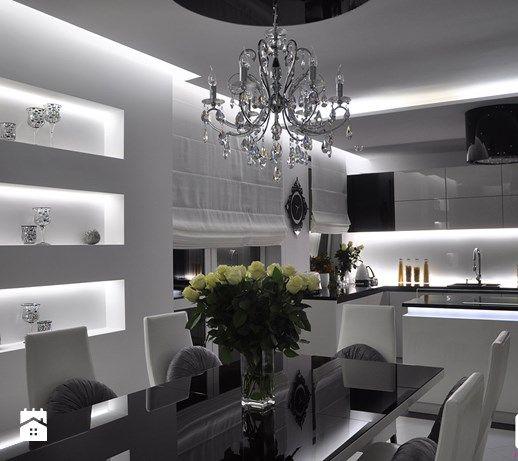 Aranżacje wnętrz - Jadalnia: Mieszkanie Białołęka, Warszawa - Jadalnia, styl glamour - CUBE Interior Design. Przeglądaj, dodawaj i zapisuj najlepsze zdjęcia, pomysły i inspiracje designerskie. W bazie mamy już prawie milion fotografii!