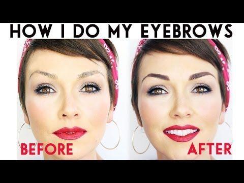 kandeej.com: Eyebrows! Eyebrows! Eyebrows! How I Do My Eyebrows!