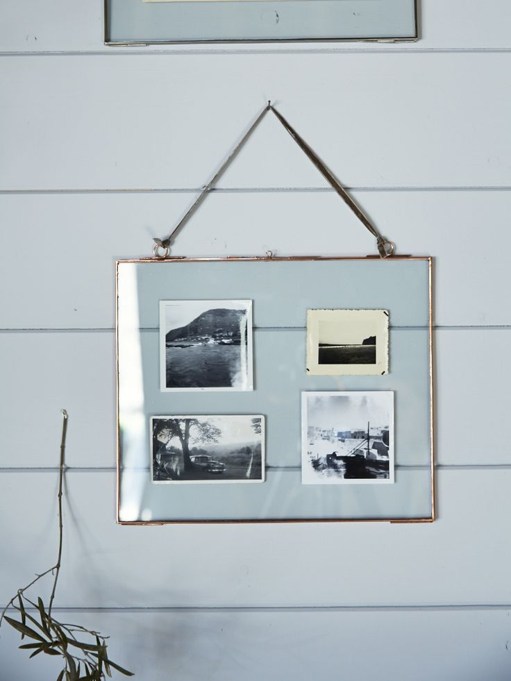 """This metal –rimmed single frame, with soft velvet ribbon for hanging, adds instant charm to your living room, bedroom or hallway. A brilliant way to display photos measuring up to 12"""" x 10"""", simply secure them in a central position and hang. Available in a copper or silver colour finish, they make a lovely gift are also available in Portrait. Click here to view ourDelicate Landscape Frame- Silver."""