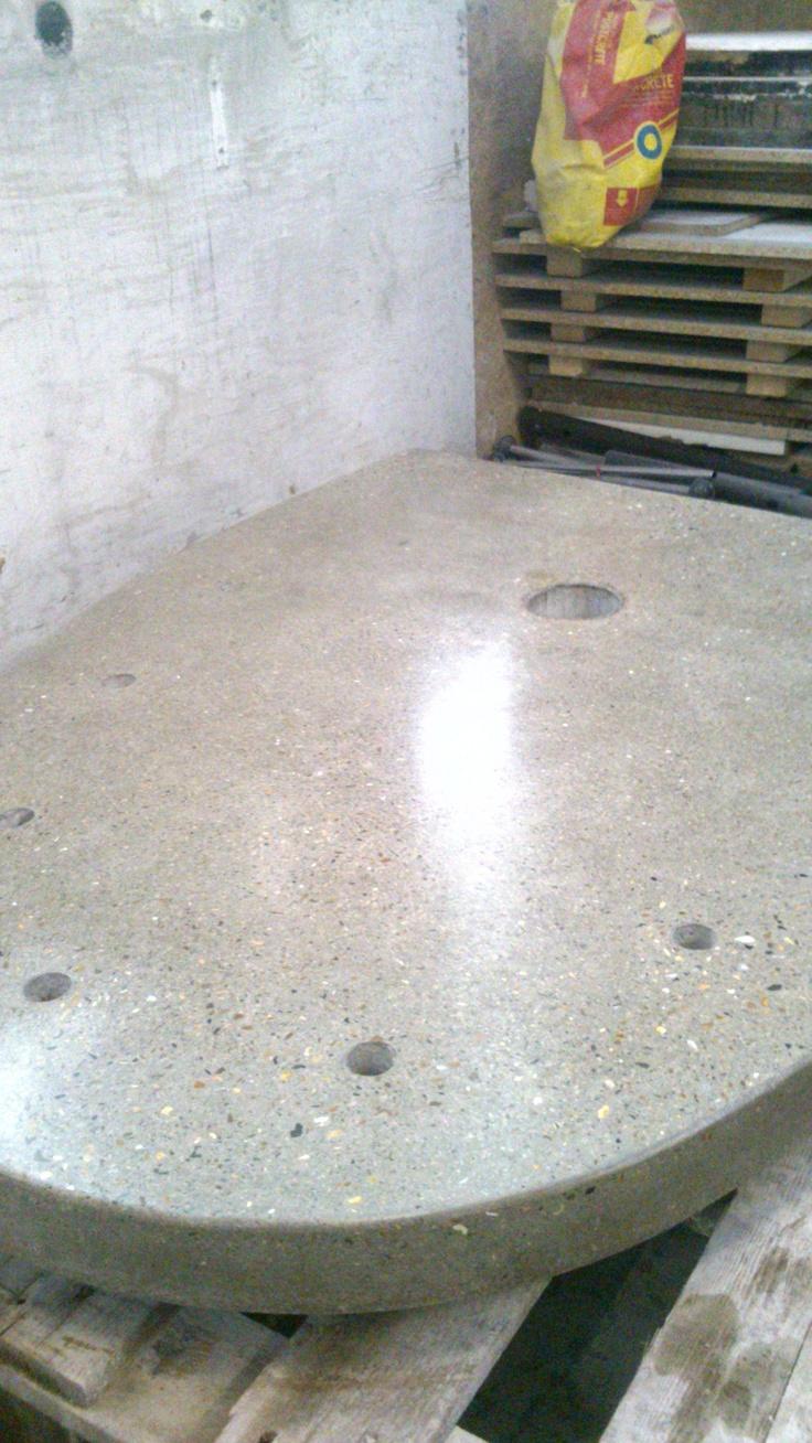 Concrete worktop (part)