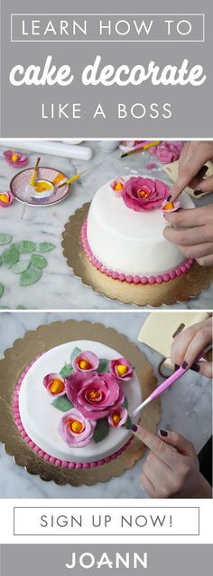 Learn how to create dessert masterpieces with the help of beginner classes from JOANN! Sign up to discover all the cake decorating tips and techniques you'll need to transform cake into a tasty work of art.