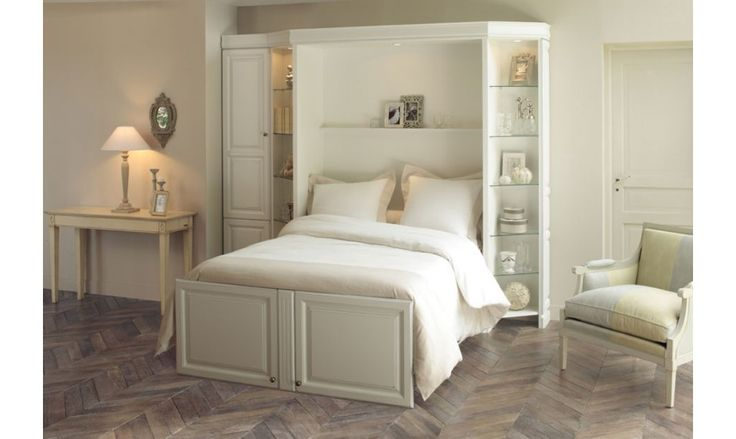27 best Armoire Lit images on Pinterest   Fold up beds, Murphy bed ...