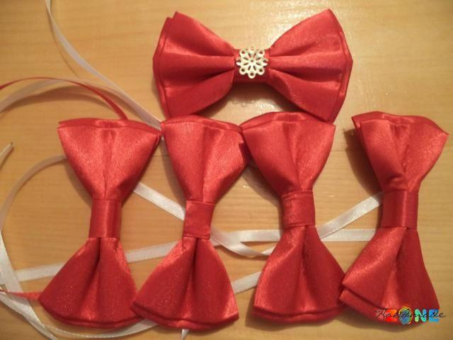 Papioane termocolate din satin rosu Poiana Campina - HandMadeZone - Vinde si cumpara creatii handmade