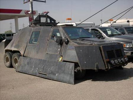 Zombie-Apocalypse Survival Truck Is Out Moonlighting As A Storm Chasing Vehicle