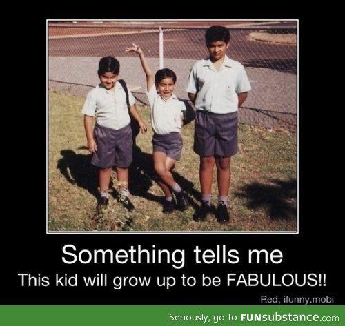 You know, I really hope he is fabulous :)