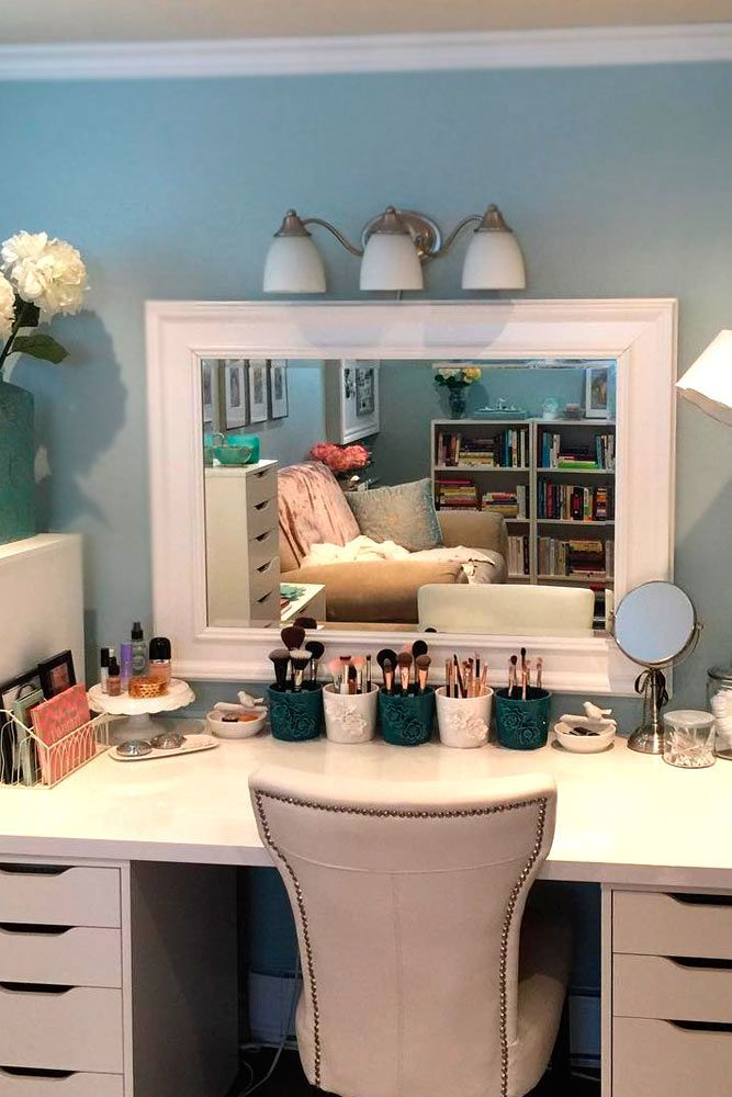 35 Most Popular Makeup Vanity Table Designs Home Room Decor Beauty Room