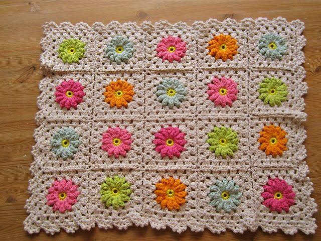 187 best Crochet Flower Afghans images on Pinterest Free ...