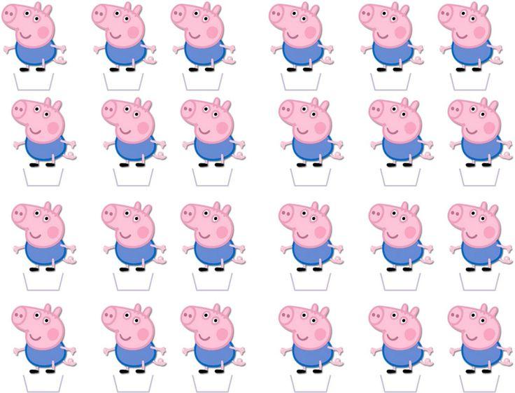 1087 Best Peppa Pig Printables Images On Pinterest Art