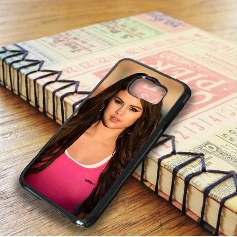 Pink Adidas Selena Gomez Samsung Galaxy S6 Edge Case