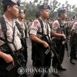 Ribuan Polisi dan TNI Jaga Ketat Pengajian Akbar Syiah