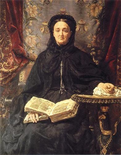 CatherinePotocka, by Jan Matejko (Polish,1838-1893).