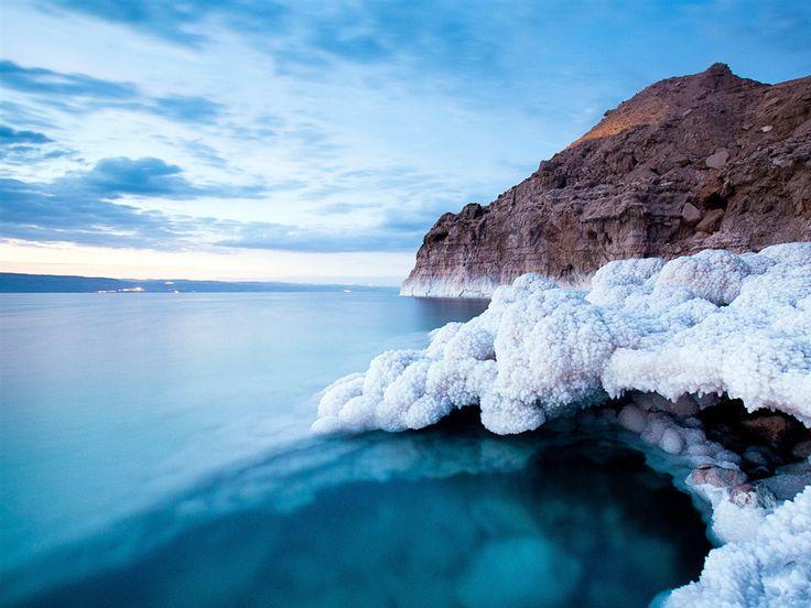 vue magnifique  | Magnifique vue sur la mer Morte Salt Lake fond d'écran - 1152x864 ...