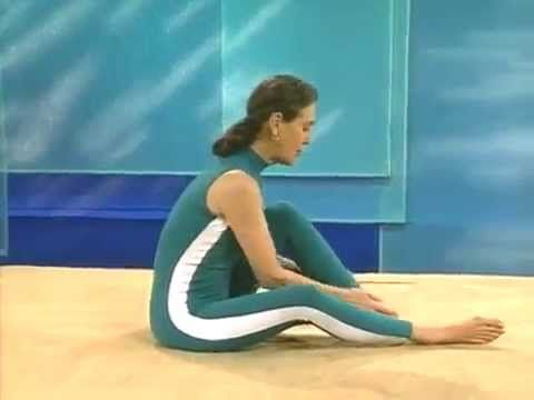 priscilla's yoga stretches for beginners  part two