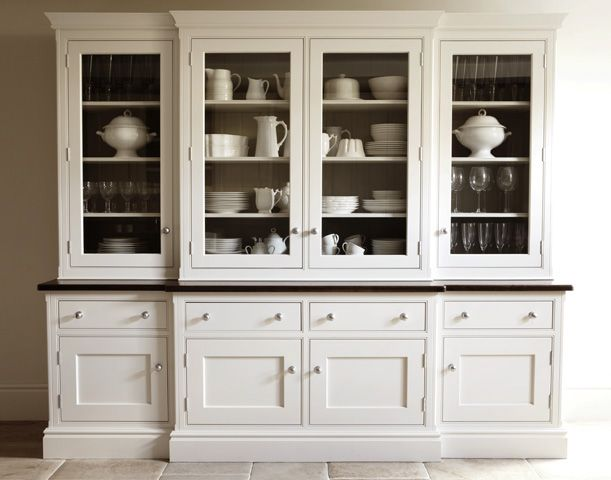 Martin Moore & Company's updated version of a traditional Butler's Pantry cabinet. I love it! CD.