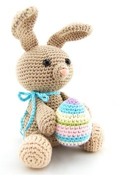 282 best crochet bunny rabbits images on pinterest crochet toys crochet easter bunny by echtstudio french pattern available to purchase ccuart Choice Image