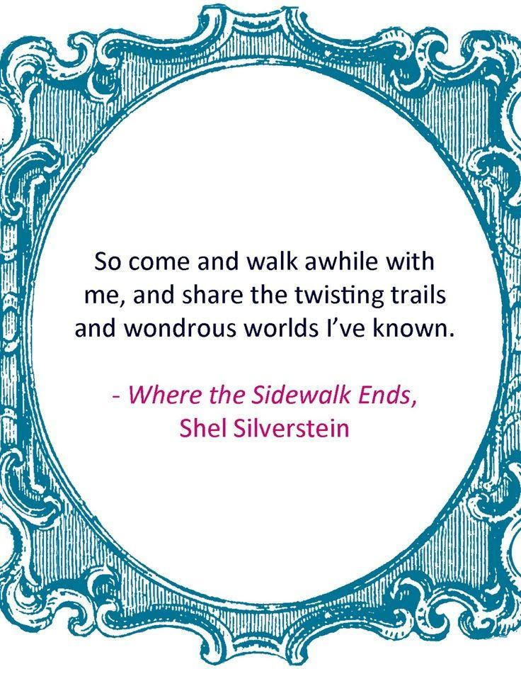 shel silverstein | Shel Silverstein | Quotes/Inspiration