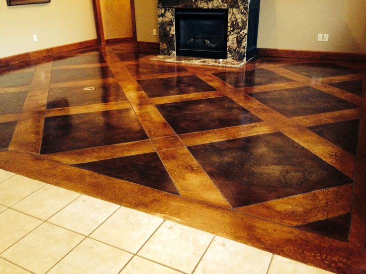 21 best resurfaced concrete interior floors images on. Black Bedroom Furniture Sets. Home Design Ideas