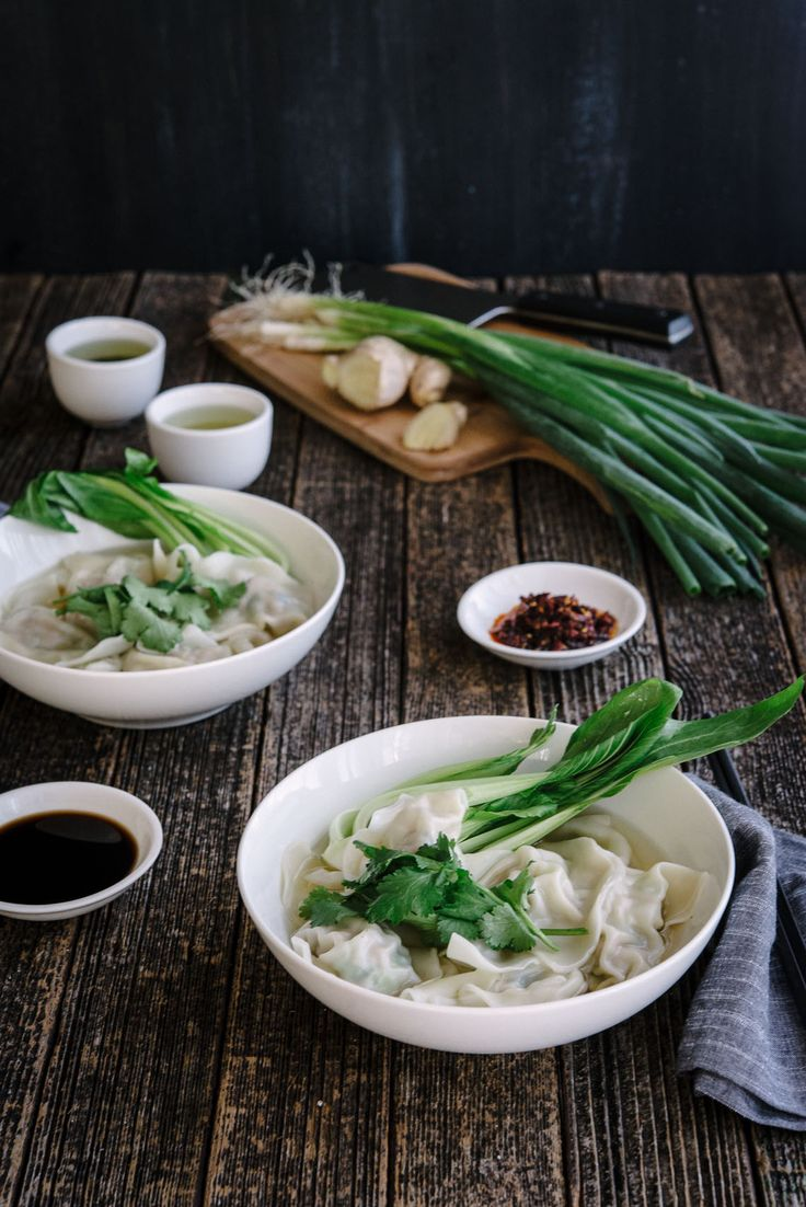 The best dumpling soup you'll try! Amazing photos and a full recipe with ingredients and methods of cooking