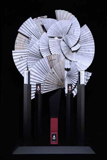 "SERGE LUTENS PERFUMES, Palais Royal, Paris,France, ""Perfume sets the mood....."", pinned by Ton van der Veer"
