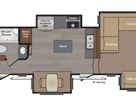 Floor Plans 5th Wheel Front Living Room Plan Luxury
