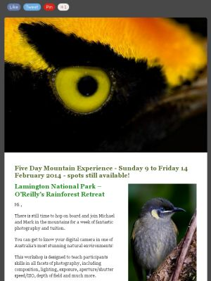 Check out this awesome 5 day photography workshop