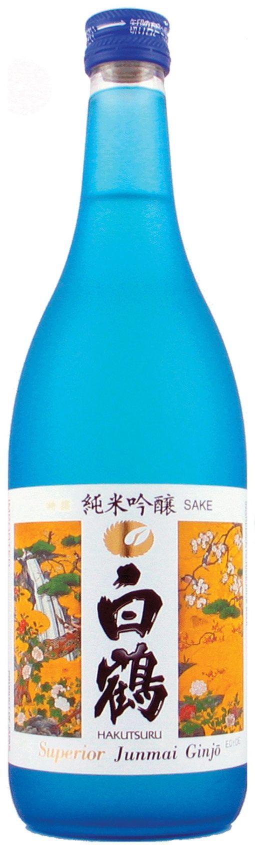 Ginjo - saquê Premium / HAKUTSURU (uma das marcas mais famosas, fundada em 1743) /// Ginjo-shu (吟醸酒), con la extracción de un porcentaje de arroz pulido entre el 30 y el 50 por ciento. Junmai ginjo-shu está hecho sin agregado de alcohol.