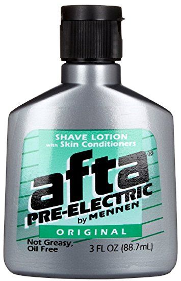 Mennen Afta Pre Electric Shave Lotion 3 Oz Pack Of 4 Review