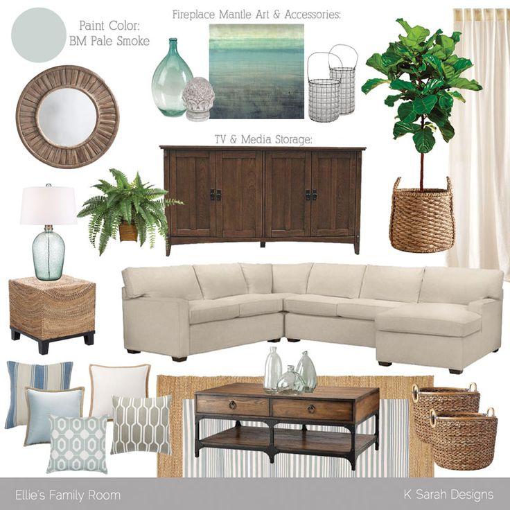 Family room | K Sarah Designs