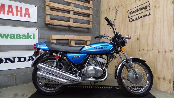 eBay: Kawasaki S1-C 250cc triple 2-stroke classic #motorcycles #biker